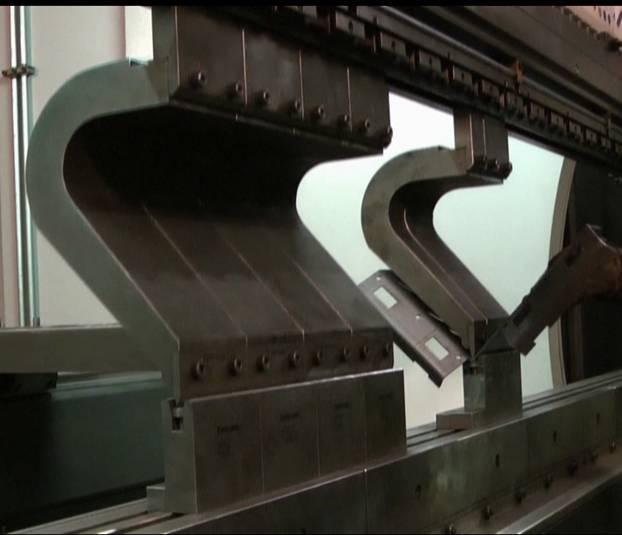 Гибка сложных профилей из листового металла